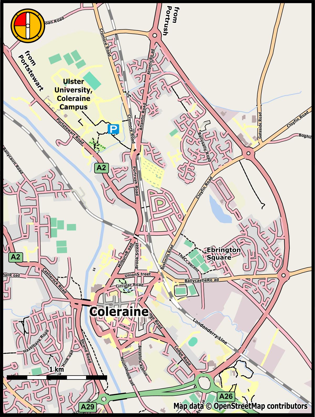 Ulster University Coleraine Nwoc