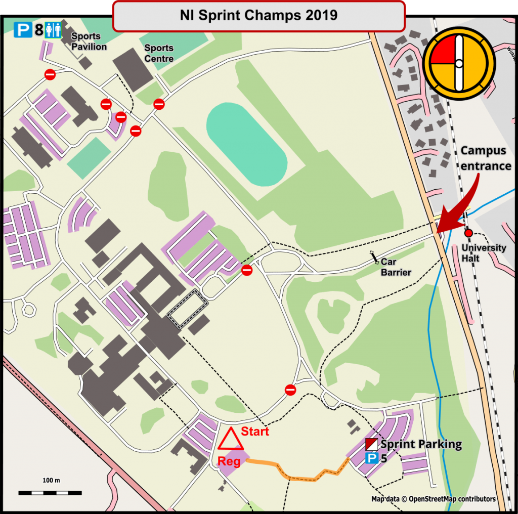 Sprint Event Layout