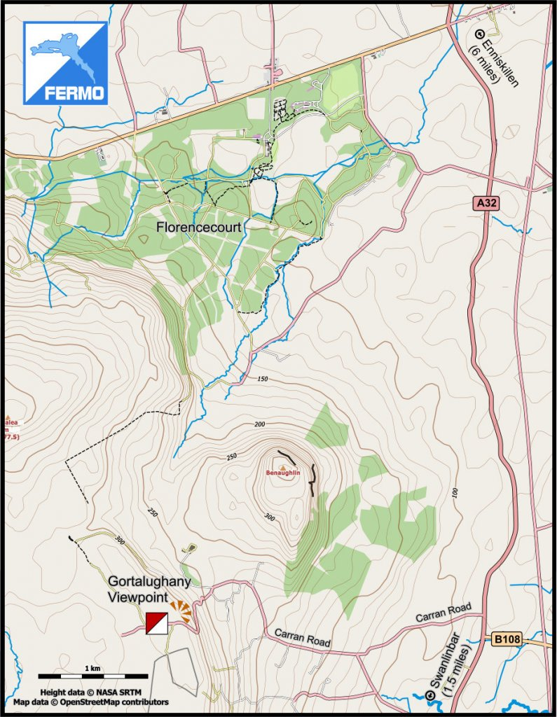 Map of route